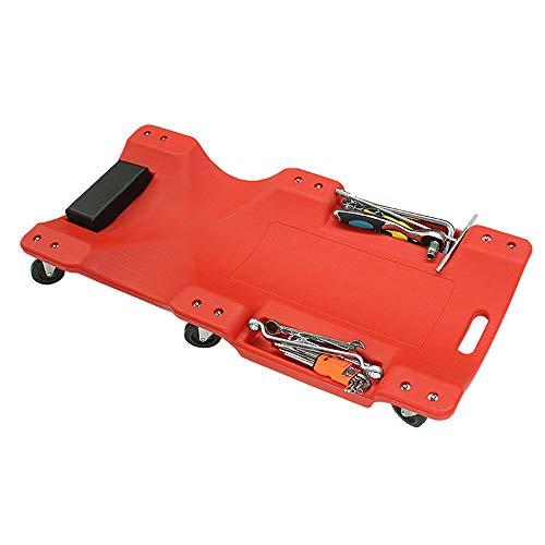 Vlook Auto Creeper Caster Board Strumenti di Riparazione Chassis Skateboard Creeper con poggiatesta Elastico Ergonomia Durevole Comodo e Stabile Convenienza Sicurezza