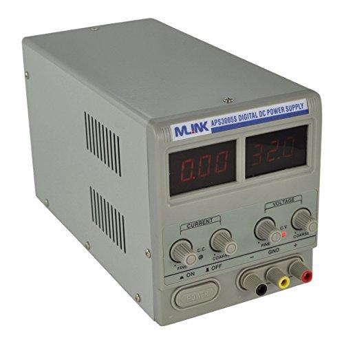 SATKIT MLINK APS3005S- 30V, 5A Fuente Alimentacion regulable con display digital
