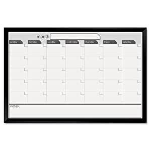 board dudes 24 x 91 4 cm schwarz aluminium gerahmt magnetisch dry erase kalender. Black Bedroom Furniture Sets. Home Design Ideas