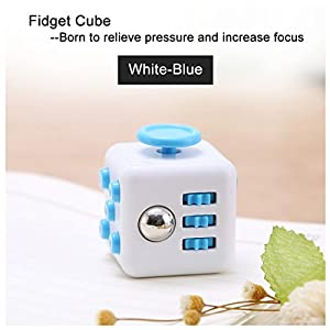 Fidget Cube, We Are Original, Relieves Stress Fidget Anxiety and Increases Focus for Children and Adults