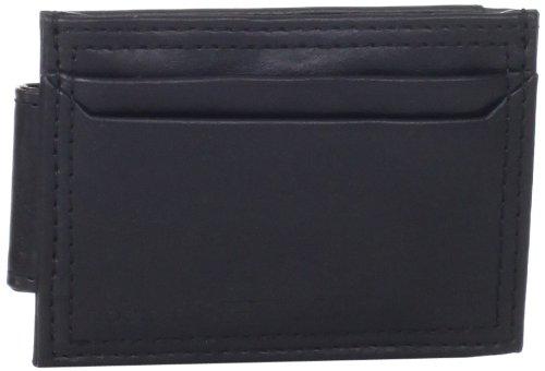 dockers-mens-magnetic-slim-front-pocket-wallet-black-one-size