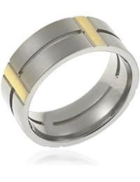 CORE by Schumann Design Herren-Ring aus Titan ohne Stein TT068.01