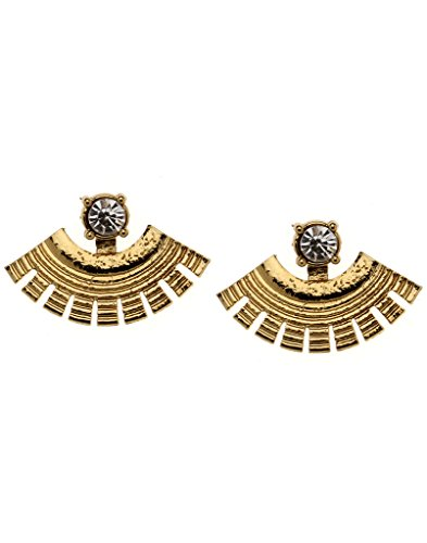 Bindhani Traditional Ear Cuff And Dangler Earrings For Women