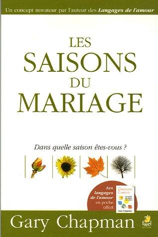 Les saisons du mariage par Gary Chapman