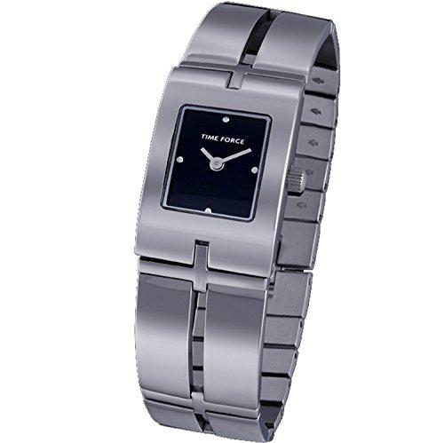 Time Force tf-3219l01m–Montre analogique pour femme. Bracelet en acier inoxydable couleur argenté.
