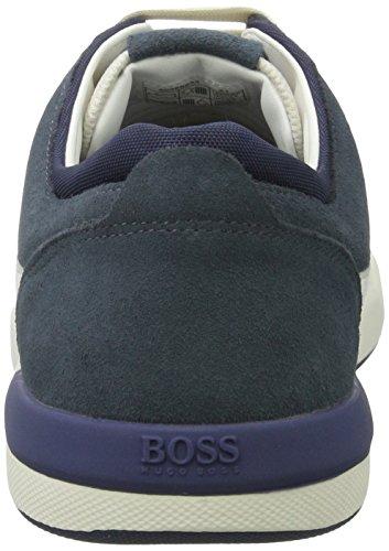 Boss Orange Stillnes_tenn_sdms 10198925 01, Scarpe da Ginnastica Basse Uomo Blu (Medium Blue)