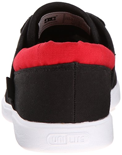 DC Shoes Haven, Chaussures à lacets homme Black/Red
