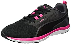 Puma Damen Pulse Flex XT FT WNS Hallenschuhe Schwarz Black-Periscope-Sharp Green 03, 41 EU