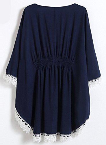 Futurino Damen Kleid Navy