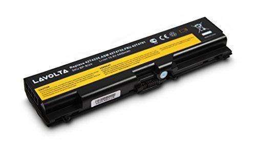 Batteria Lavolta Originale per Lenovo Thinkpad E420 E520 L410 L412 L420 L421 L510 L512 L520 SL410 SL510 T410 T410i T420 T510 T510i T520 W510 W520 Edge 14 15 E40 E50 Notebook PC Portatile compatibile con 42T4708 42T4709 42T4737 42T4738 42T4751 42T4752 42T4755 51J0498 51J0499 57Y4185 57Y4186