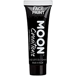 Pintura corporal de Moon Creations - 12ml - Negro