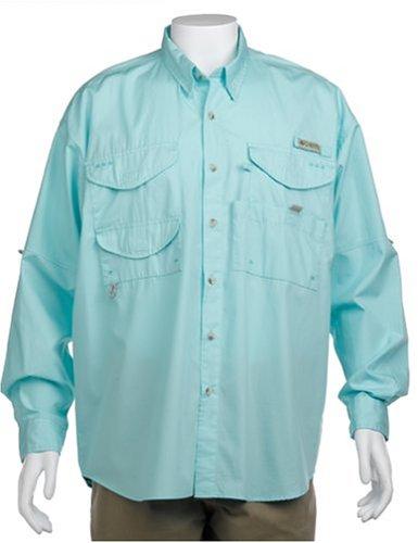 Columbia-angeln-shirt (Columbia Herren Bonehead Langarm T-Shirt Angeln (Golfstrom, 2 X))