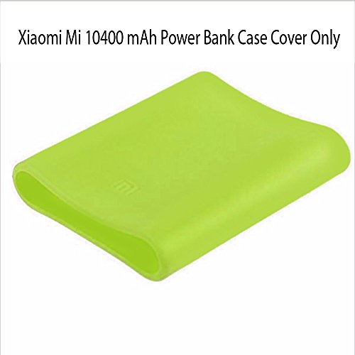 Heartly Soft Silicone Protector Case Cover for Xiaomi Mi 10400 mAh Power Bank ( Powerbank Not Included ) - Great Green  available at amazon for Rs.249
