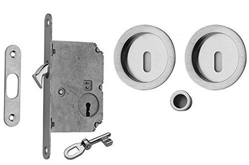 poignee-de-porte-coulissante-interieure-pour-chambres-rosace-a-clef-fournie-brevet-revetement-anti-b