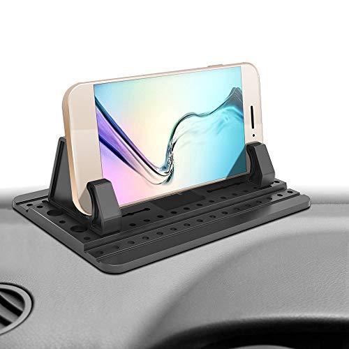 Ipow la terza generazione supporto antiscivolo del silicone tappetino per auto e casa per iphone 5s/6/6s(plus)/7(plus)/ samsung s7 s6 s5 s4 huawei ecc ...