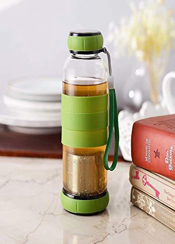 Styleys Green Tea Bottle/Green Tea Infuser/Green Tea Maker 550ML (Assorted Colour)