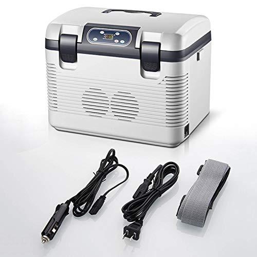 AIBAB Minikühlschrank Auto Kühlschrank Doppelkern 24 V / 220 V Auto Und Heimgebrauch Gefrierschrank Mobiler Kleiner Kühlschrank 12L