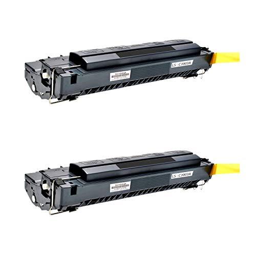 2 Logic-Seek Toner kompatibel zu HP C3903A 03A Laserjet 5P, 5MP, 6P, 6MP Serie - Schwarz je 4.000 Seiten (Hp Laserjet 03a)