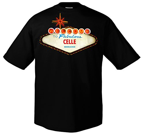 FUN Welcome to Celle Niedersachsen Las Vegas Funshirt
