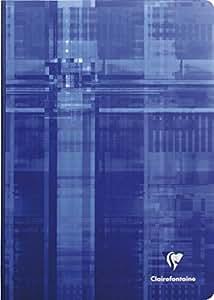 Clairefontaine - 1 Cahier reliure brochure - 21 x 29,7 cm - Grands carreaux - 192 pages - couleurs Assortis