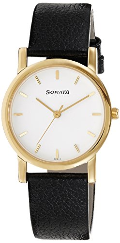 Sonata Analog White Dial Men's Watch - NH7987YL02CJ image
