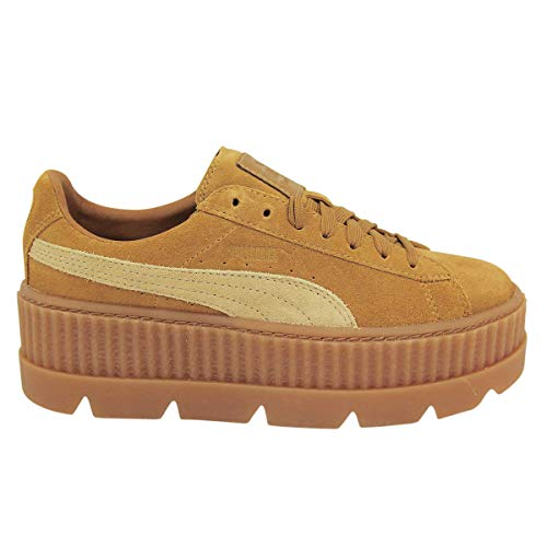Puma X Fenty Wmn Cleated Creeper Golden Größe: 6,5(40) Farbe: Brown