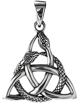 Keltenknoten mit Schlangen Anhänger aus 925 Sterling Silber Nr. 325