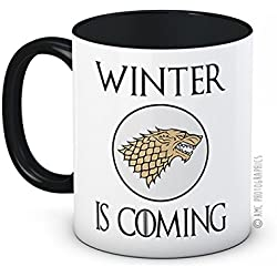 Winter Is Coming–Stark Sigil–Game of Thrones–Taza de té de café de alta calidad