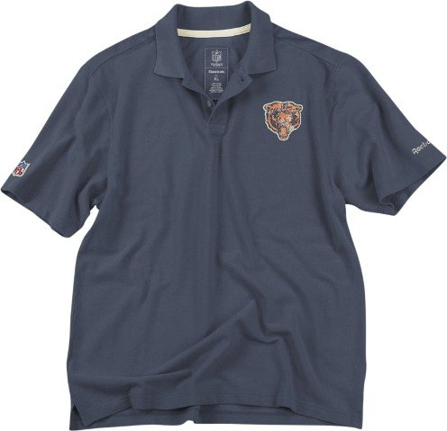 Chicago Bears Vintage Reebok Retro Polo shirt camicia