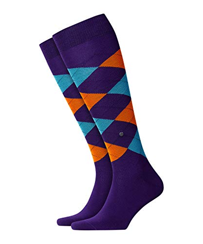 Burlington Manchester Herren Kniestrümpfe royal purple (6988) 40-46 One size fits all (Gr. 40-46)