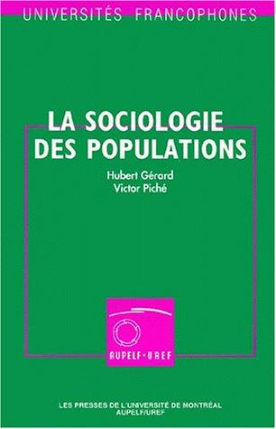 La Sociologie des populations