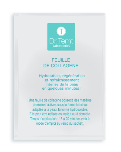 Masque au collagène - feuille 15ml Dr Temt