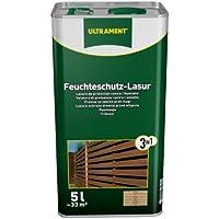 Ultrament 68248980195208 - Barniz de protección total 3 en 1 para madera de teca (5 L)