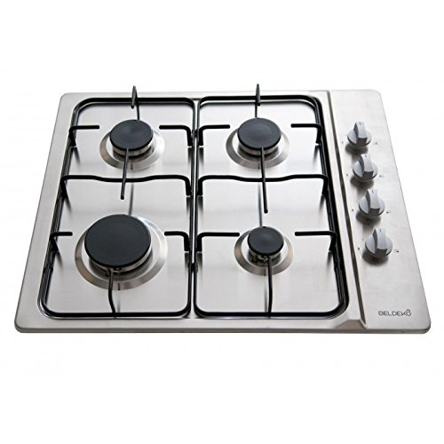 Table de cuisson gaz - BELDEKO BTG4Z-E01IX