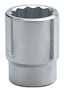 Wright Tool 61-55MM 12-Point Standard Metric Socket by Wright Tool