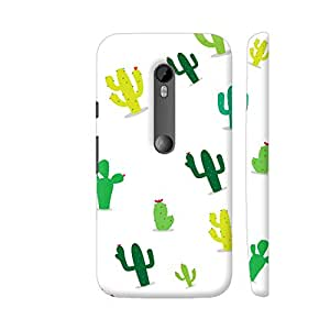 Colorpur Moto G3 Cover - Green Cactus Case