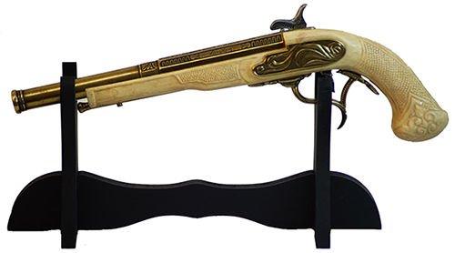 Pirate-Buccaneer-Cosplay-Larp-Sca-Re-enactment PLAIN WEAPON PISTOL//SWORD STAND