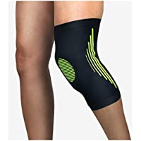 Fantasyworld Elastic Knee Sport Knee Protector Braces Compression Knee Pad Sleeve For Training Basketball Volleyball Protect