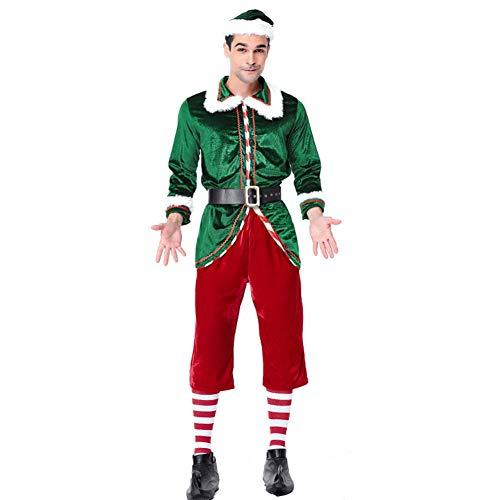 LOBJA LbojailiAi Weihnachtsfeier Kleidung Männer Frauen Paar Elf -