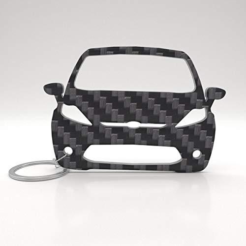 ACF Ford Schlüssel-Anhänger | echtes Carbon | Geschenk-Idee | Tuning | Ford Fiesta (~2013) -