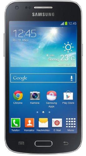 Samsung Galaxy Core Plus Smartphone (10,9 cm (4,3 Zoll) TFT-Touchscreen, 5 Megapixel Kamera, WiFi, NFC, S Beam, Android 4.2.2) schwarz -