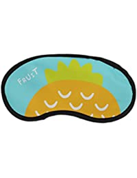 Sleeping Eye Mask With Elastic & Cooling Eye Gel - Pineapple (LNTg270)