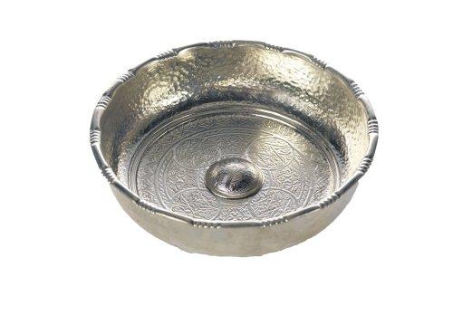 Carenesse Hamamschale - Wasserschale - Tas - Kupfer verzinnt, Dekoschale, Durchmesser 20 cm