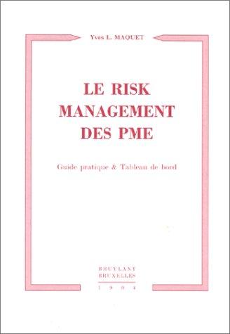 Le risk management des PME par Maquet