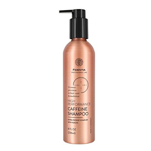 Fidentia Coffein Shampoo mit hochdosiertem Caffeine & Biotin bei Haarausfall und Schuppen - Made-in-Germay 236 ml