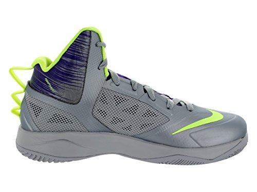 Nike, Sneaker uomo Wolf Grey/Volt/Court Purple