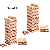 Happy GiftMart 51 Pcs Challenging Maths Jenga for Men and Women and Kids - Set of 2