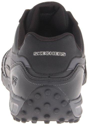 Skechers Floaterdown Time, bout fermé homme Noir - Schwarz (BKCC)