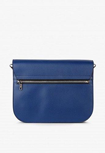 BREE, Borsa a spalla donna beige naturale 27 cm x 19 cm x 14 cm (BxHxT) blu