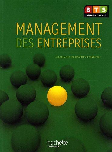 Management des entreprises, BTS 2e année